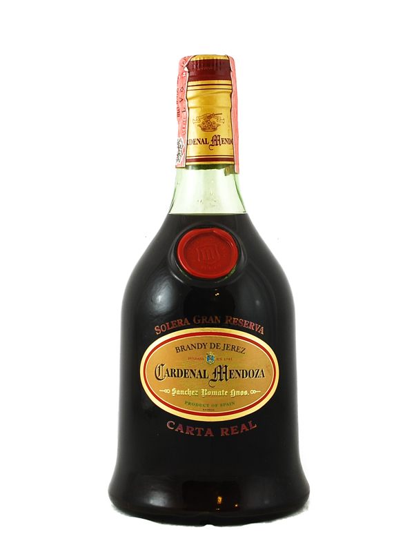 Brandy Cardenal Mendoza Carta Real