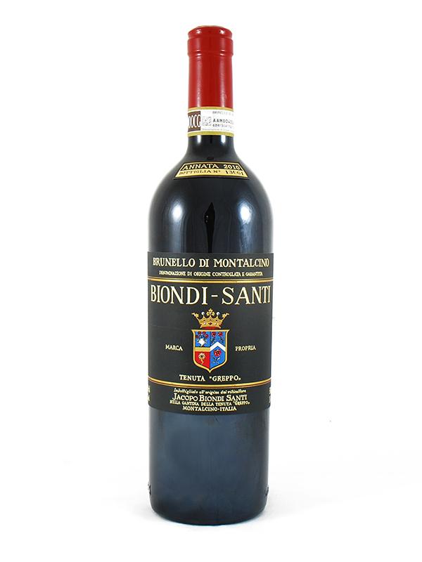 Brunello Di Montalcino Biondi Santi Greppo 2012