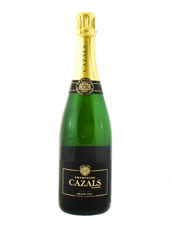 CHAMPAGNE CLAUDE CAZALS BRUT GRAND CRU CARTE OR