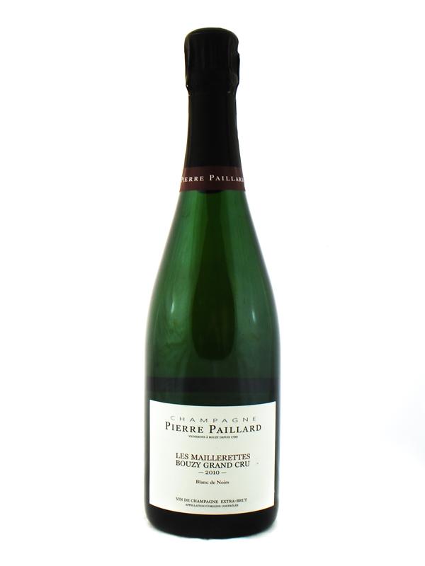 Champagne Pierre Paillard Blanc De Noirs Les Maillerettes 2010 Grand Cru