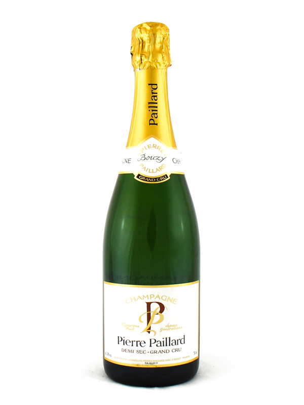 Champagne Pierre Paillard Demi Sec Grand Cru