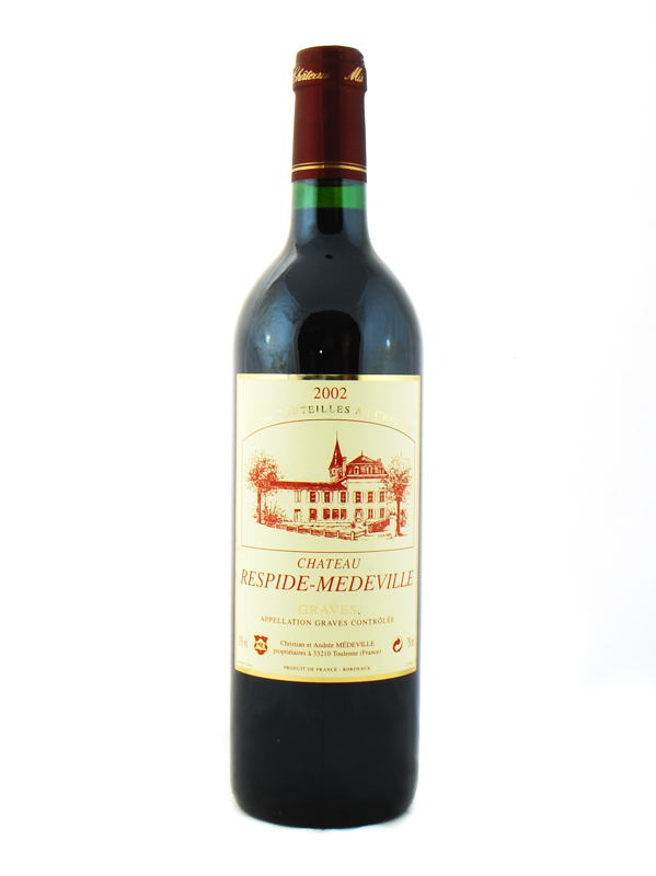 CHATEAU RESPIDE MEDEVILLE 2002