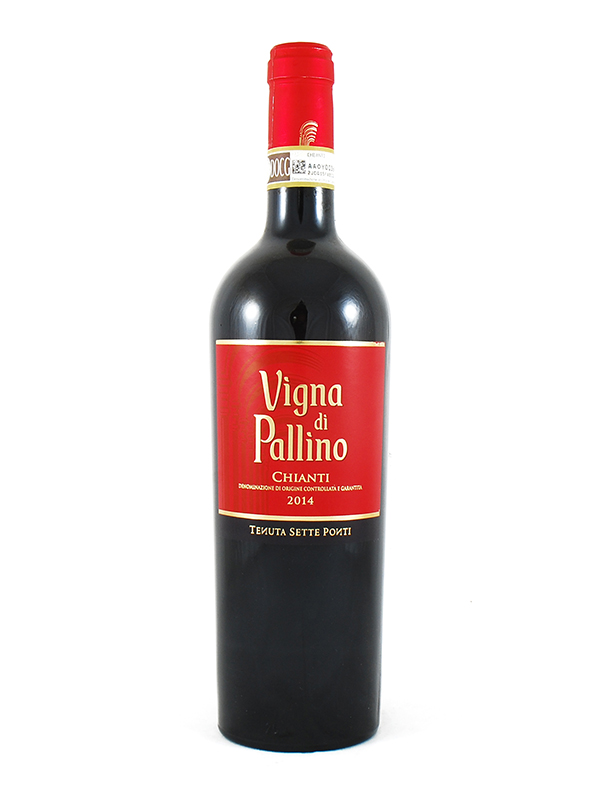 CHIANTI TENUTA SETTE PONTI VIGNA PALLINO 2014