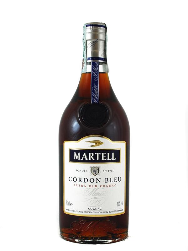 COGNAC MARTELL CORDON BLEU EXTRA OLD