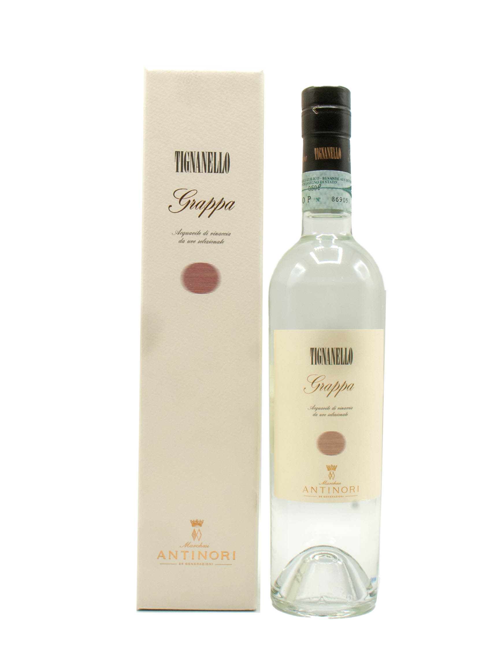 Grappa Tignanello Antinori Cl 50