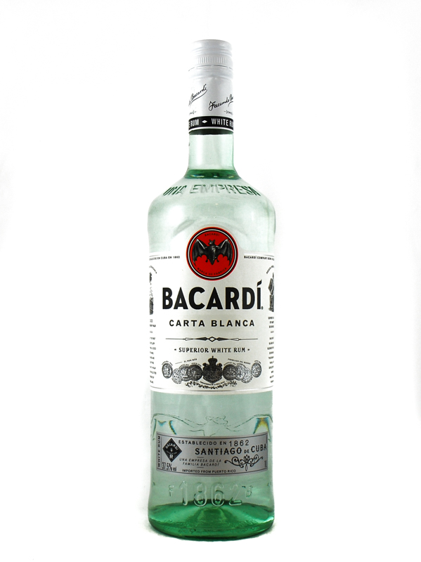 Rum Bacardi Carta Bianca Litro
