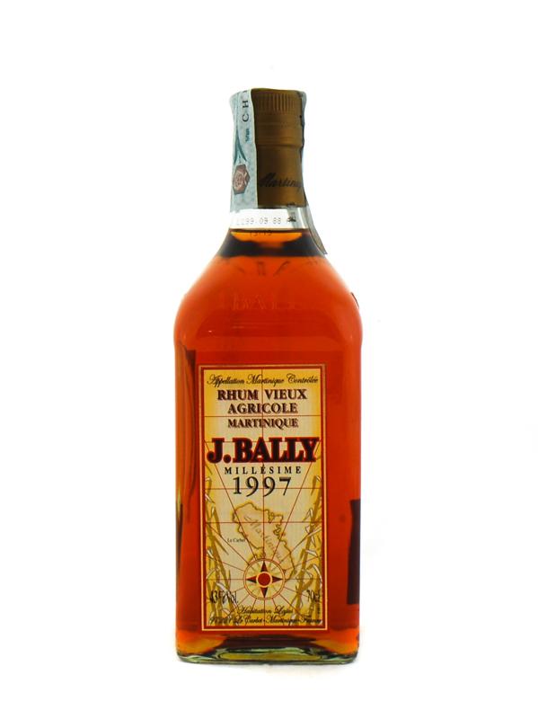 Rum Bally Agricole Martinique 1997