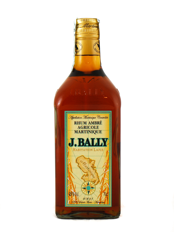 Rum Bally Ambre Martinique Aoc