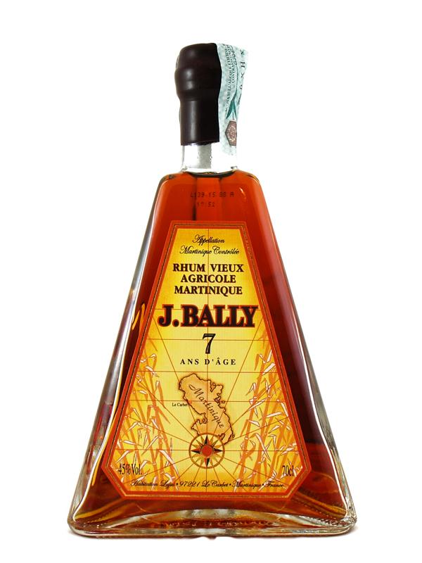 Rum Bally Piramide 7 Y.o.