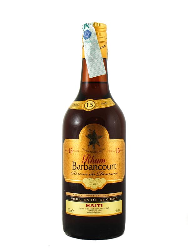 Rum Barbancourt 15 Years Old