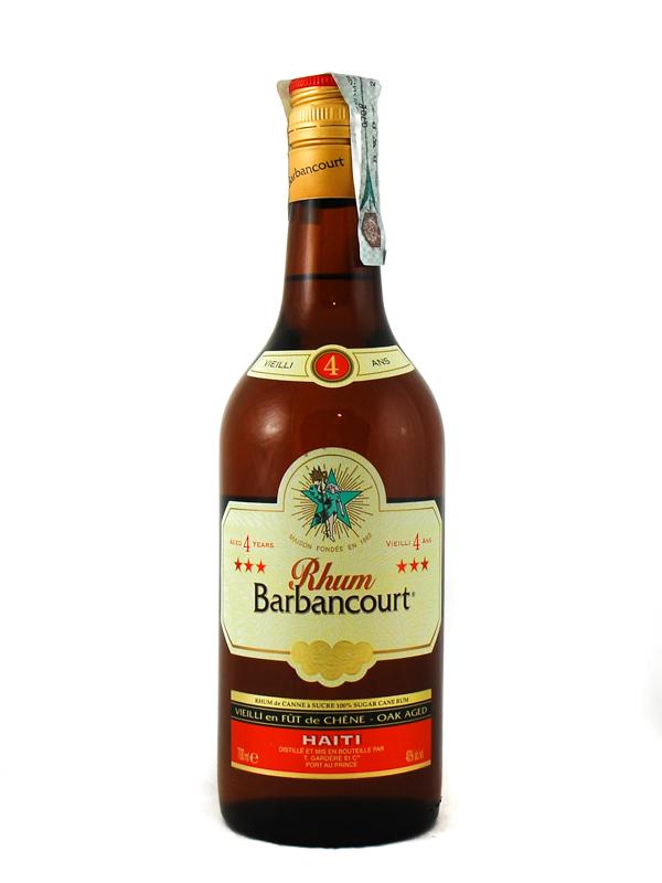 Rum Barbancourt 4 Year Xxx Haiti