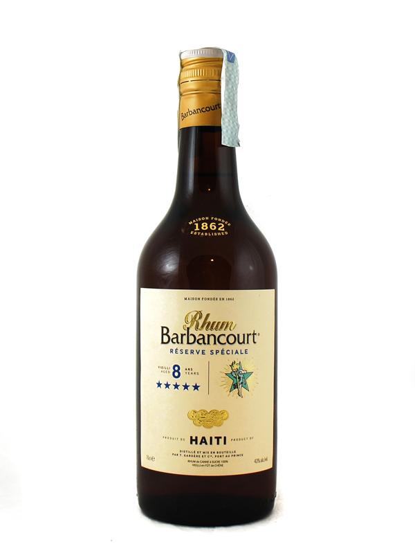 Rum Barbancourt 8 Year Xxxxx Haiti