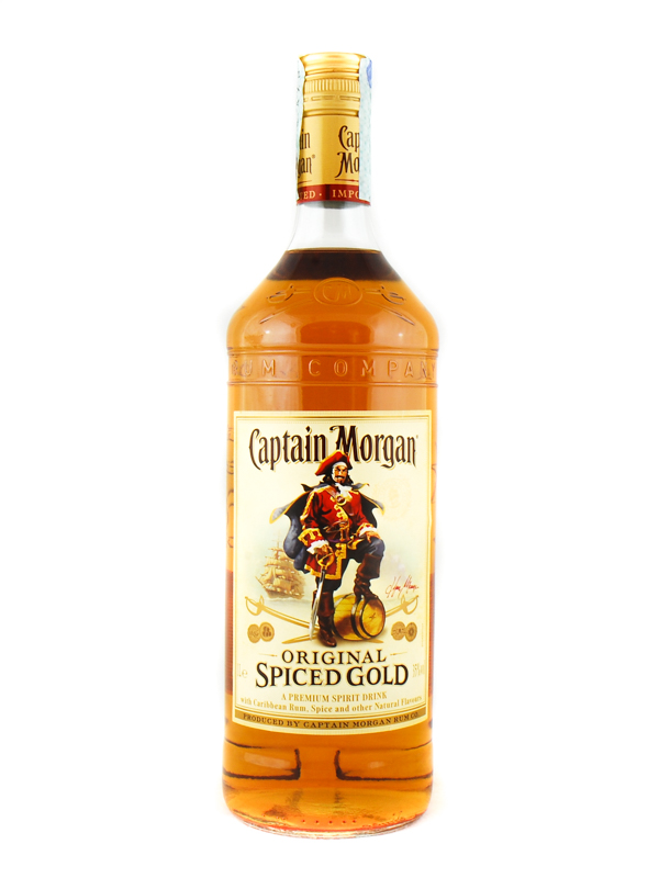 Rum Capitan Morgan Spiced Litro