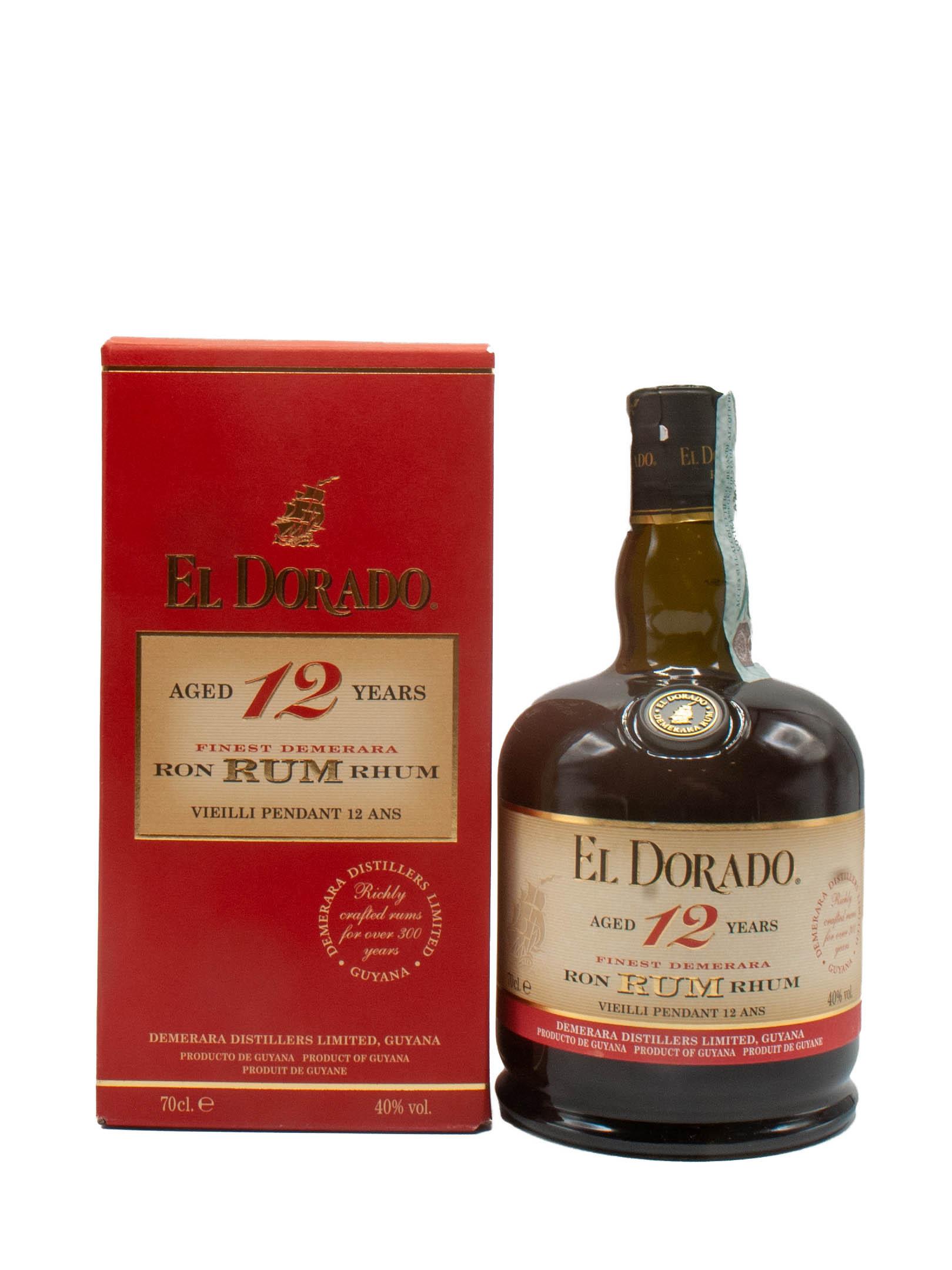 Rum El Dorado Demerara 12 Year Old