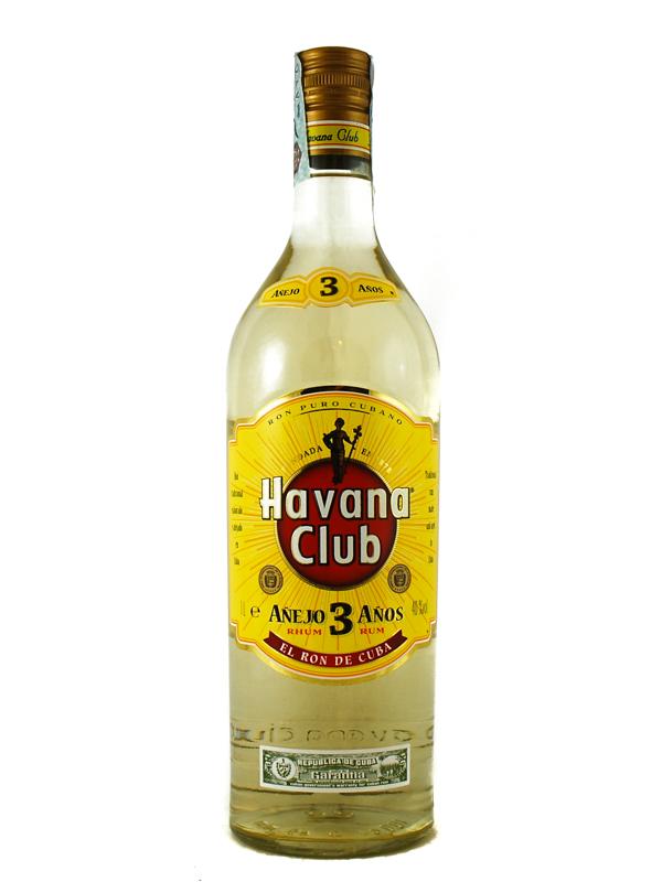 RUM HAVANA CLUB 3 ANNI LITRO