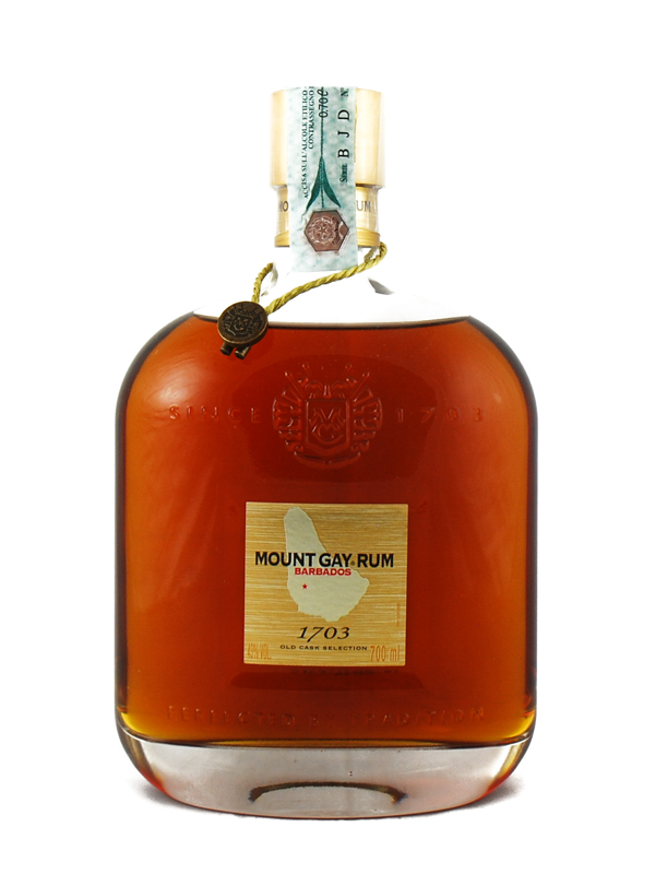 RUM MOUNT GAY 1703 OLD CASK SELECTION