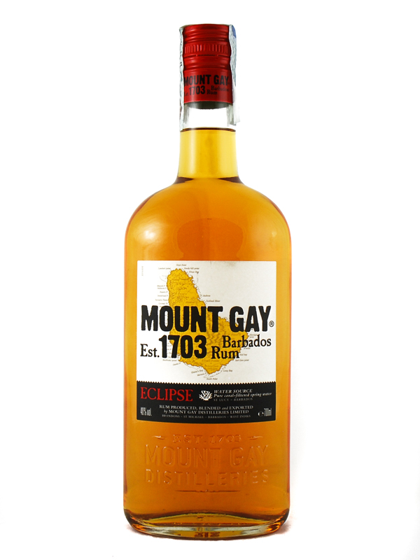 RUM MOUNT GAY BARBADOS ECLIPSE