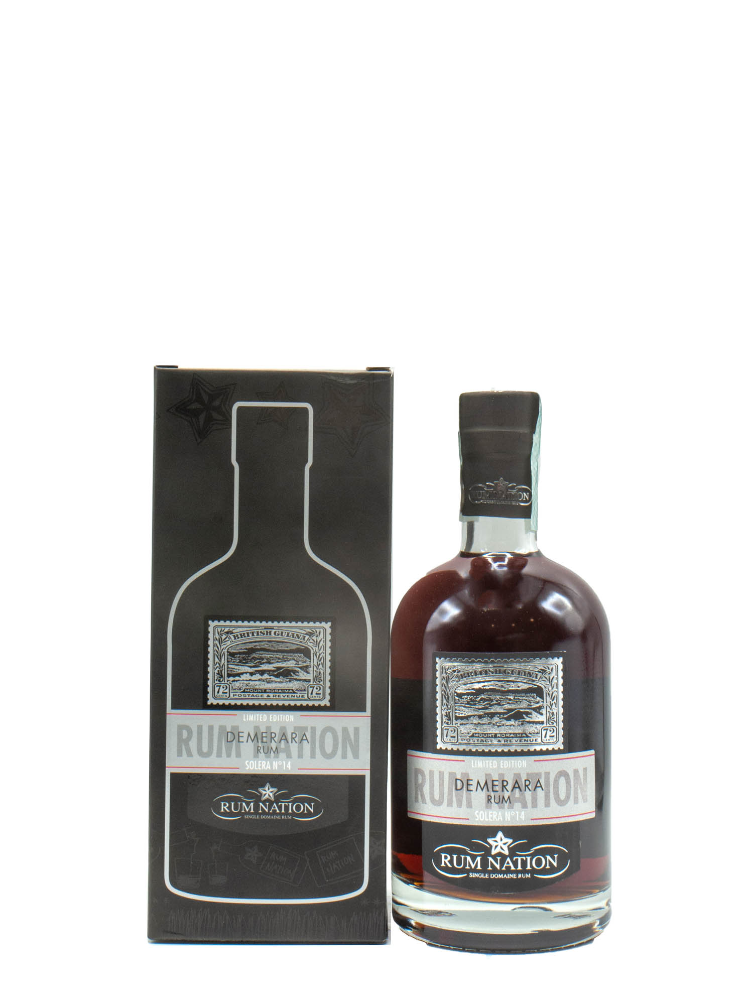 RUM NATION DEMERARA SOLERA # 14