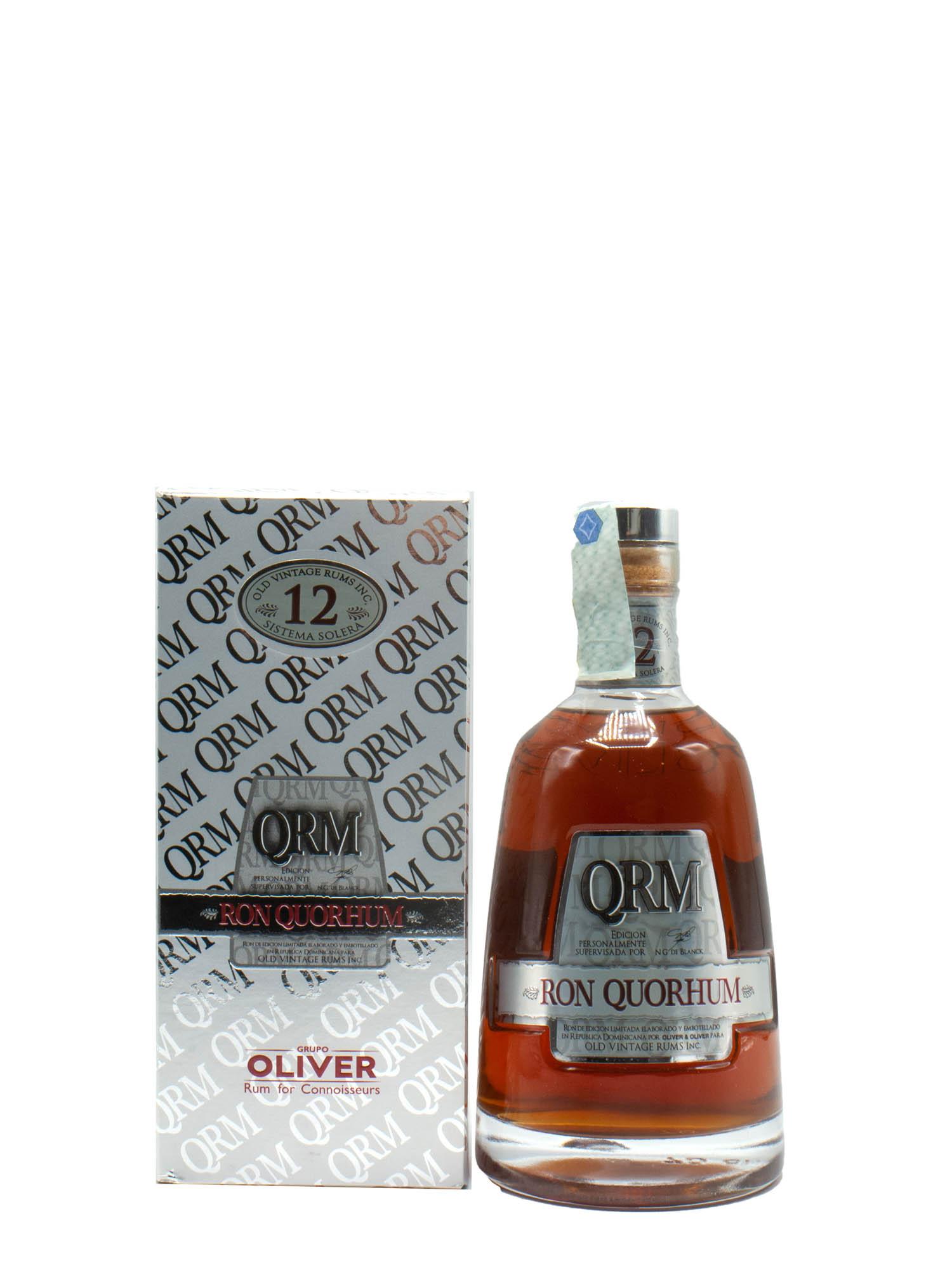 Rum Quorhum 12 Y Old Vintage Rum