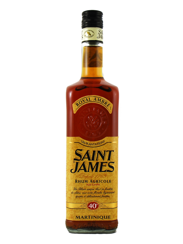 RUM SAINT JAMES AMBRE MARTINIQUE