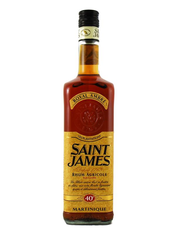 Rum Saint James Ambre Martinique