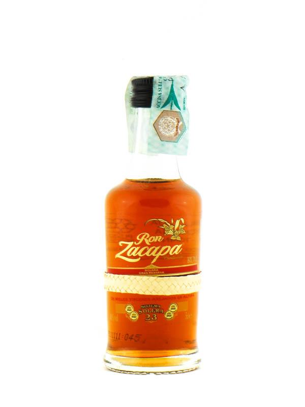 Rum Zacapa 23 Y Cl.5 Mignon