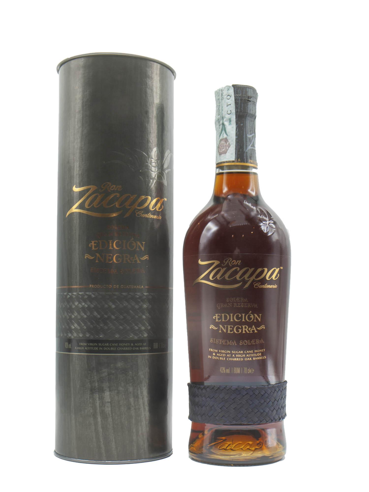 Rum Zacapa Centenario 23 Anni Edicion Negra