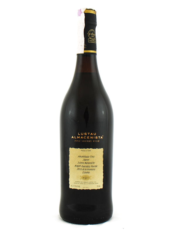 Sherry Lustau Fino Amontillado