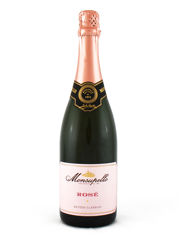 SPUMANTE MONSUPELLO BRUT ROSE