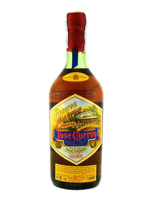Tequila Cuervo Reserva De La Familia Extra Anejo