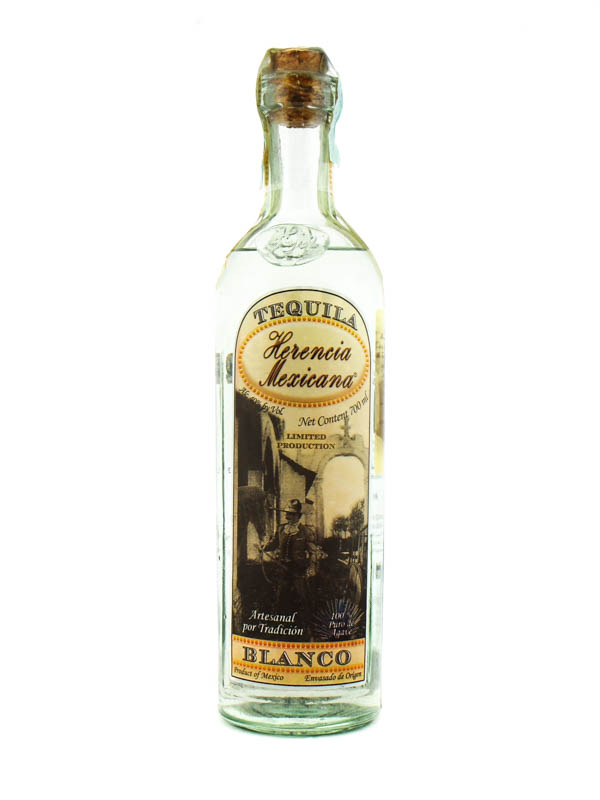 Tequila Herencia Mexicana Blanco