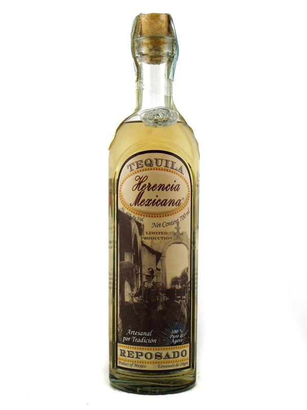 Tequila Herencia Mexicana Reposado