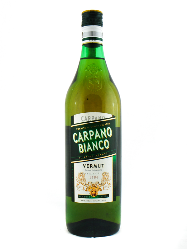 VERMOUTH CARPANO BIANCO CL 100