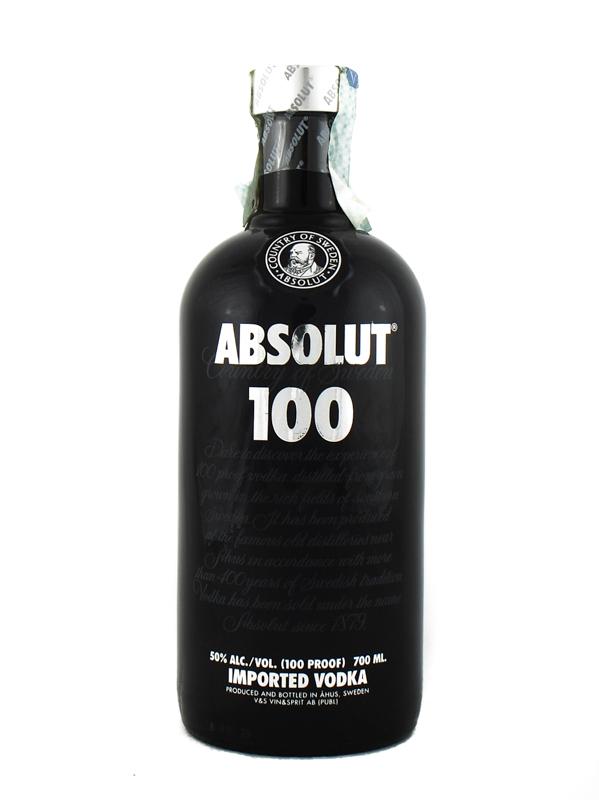 Vodka Absolut 100 50% Cl.70
