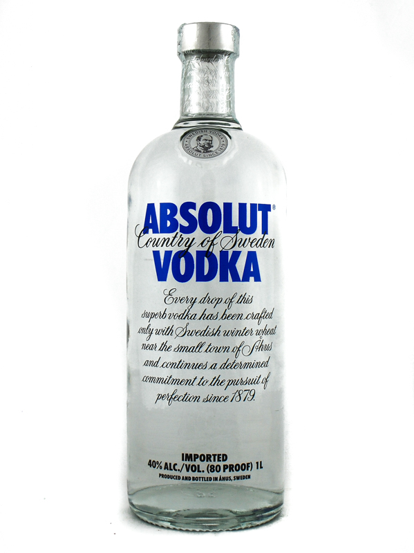 Vodka Absolut Blu Cl.100