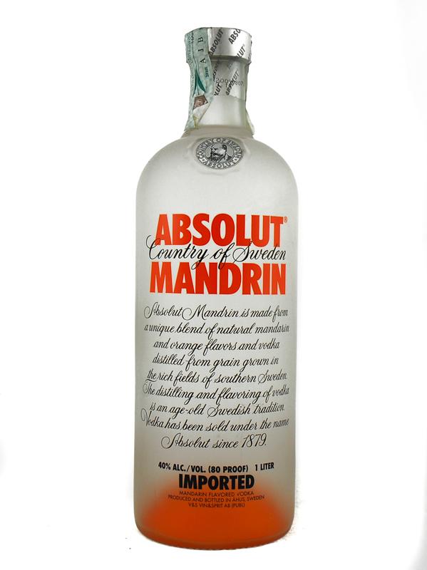 Vodka Absolut Mandarin 1 Litro