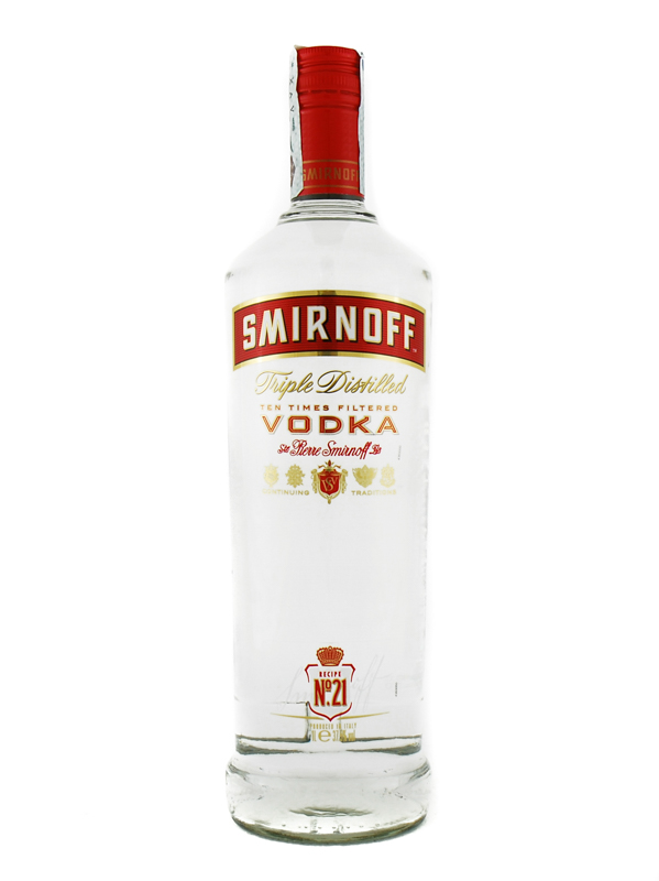 Vodka Smirnoff Red Litro