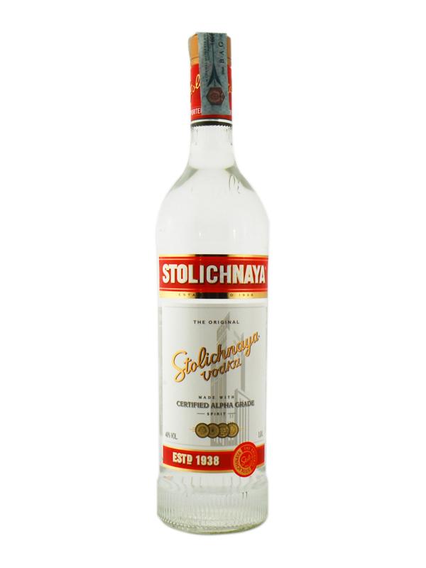 Vodka Stolichnaya Litro
