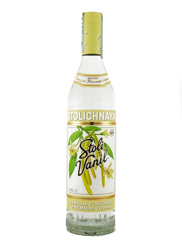 Vodka Stolichnaya Vanilla 70 Cl