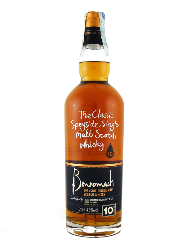 Whisky Benromach 10y