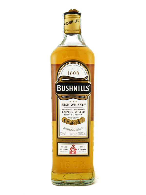 WHISKY BUSHMILLS IRISH