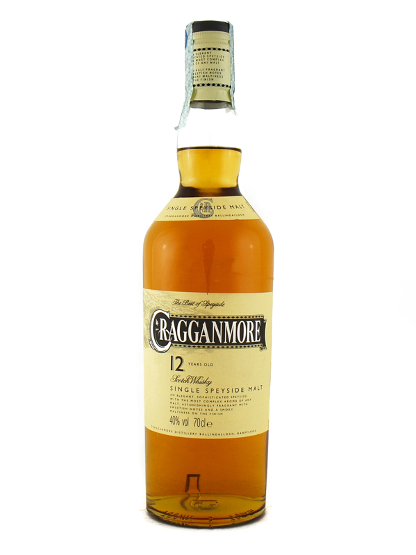 Whisky Cragganmore 12 Years Malt
