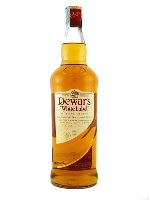 Whisky Dewars White Label