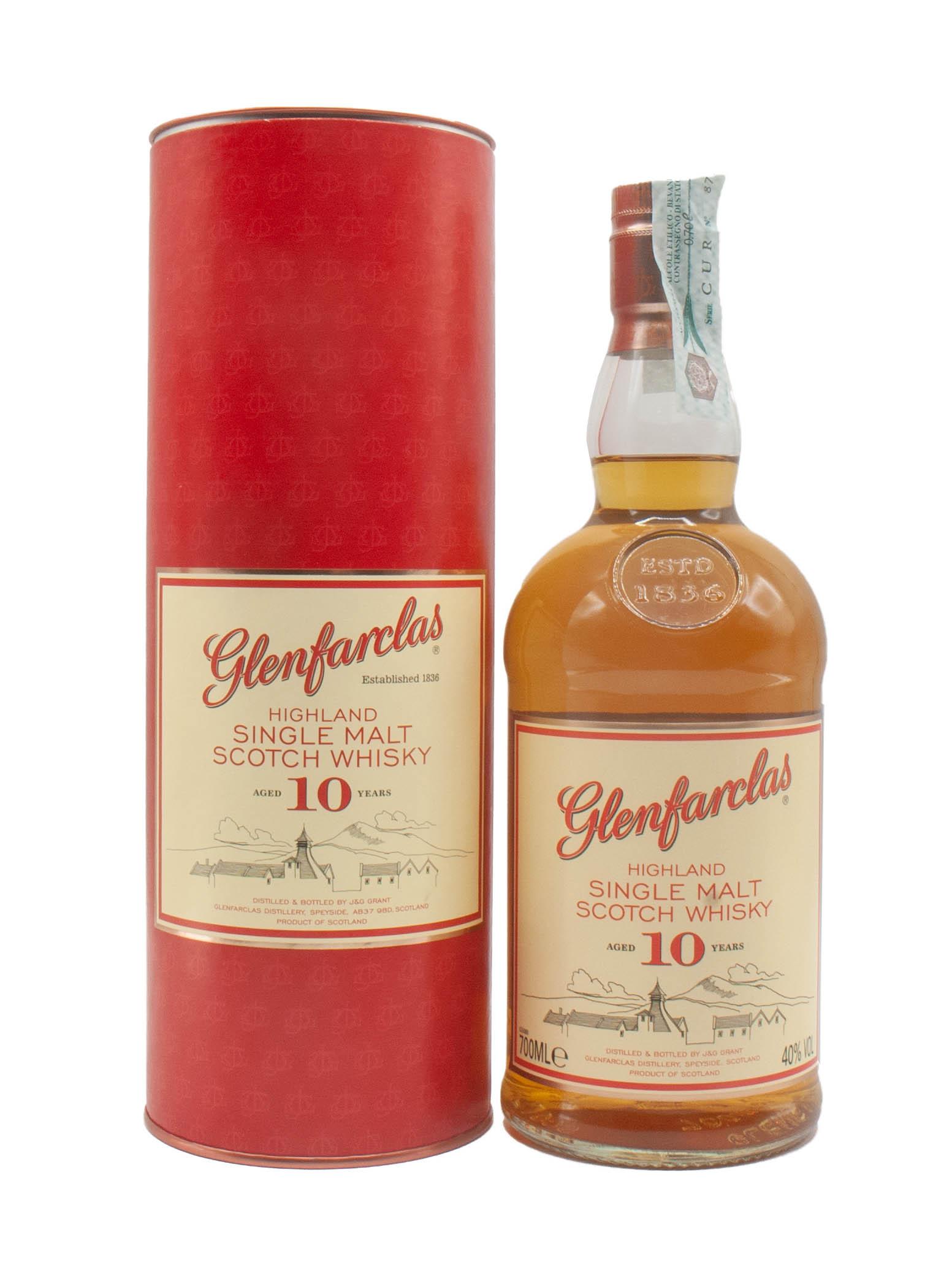 Whisky Glenfarclas Malt 10 Years