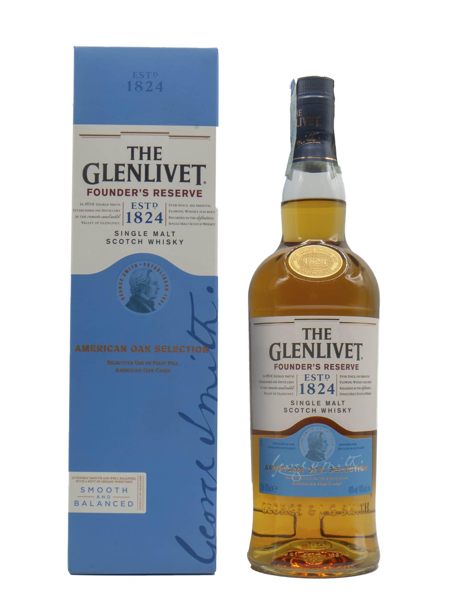 Whisky Glenlivet Founders Reserve