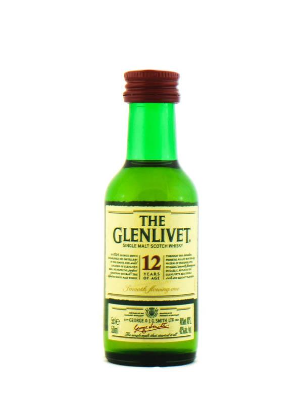 Whisky Glenlivet Malto 5cl