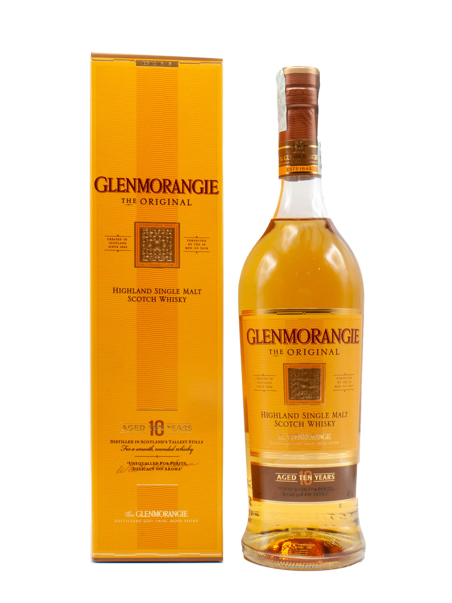 Whisky Glenmorangie 10 Years Litro