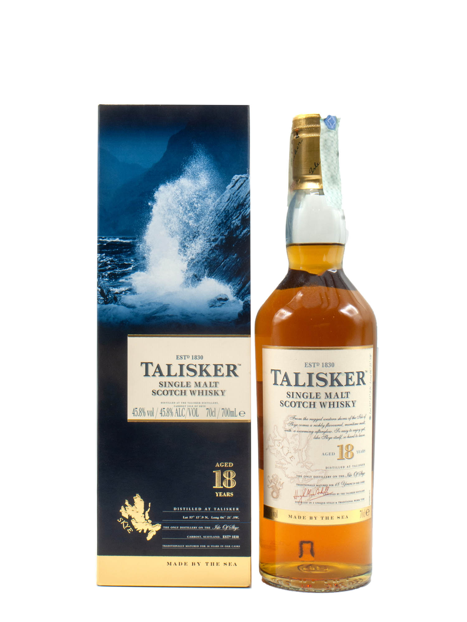 Whisky Talisker 18 Years Malto